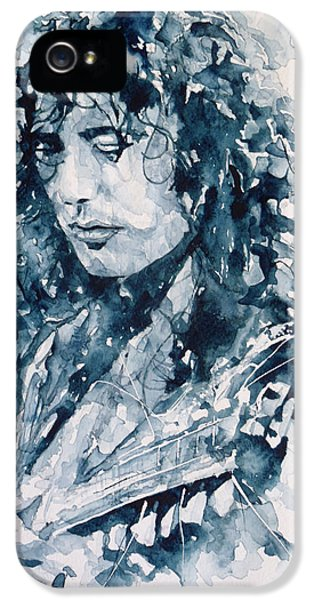 Whole Lotta Love Jimmy Page IPhone 5 / 5s Case by Paul Lovering