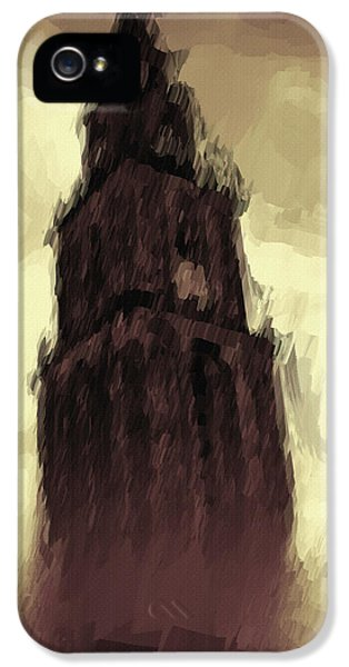 Dungeon iPhone 5 Case - Wicked Tower by Inspirowl Design