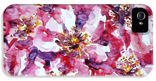 Wild Rose IPhone 5 Case