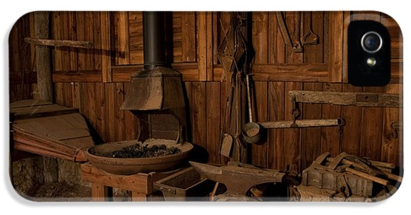 Wild West Blacksmith IPhone 5 Case