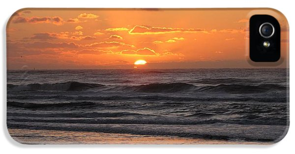 Wildwood Beach Here Comes The Sun IPhone 5 / 5s Case by David Dehner