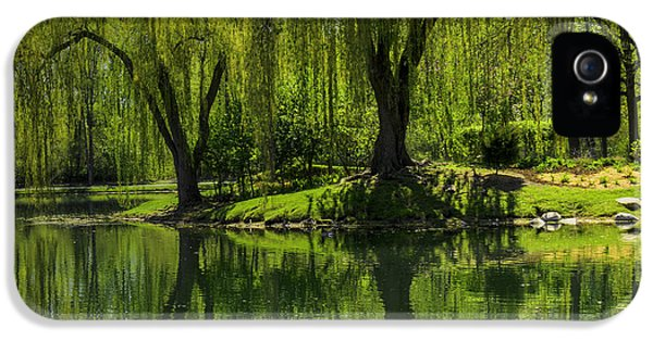 Willows Weep Into Their Reflection  IPhone 5 Case