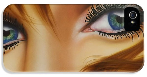 Window To The Soul IPhone 5 Case by Darren Robinson