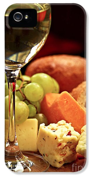 Wine And Cheese IPhone 5 Case by Elena Elisseeva