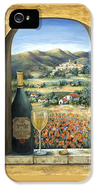 Wine And Poppies IPhone 5 Case