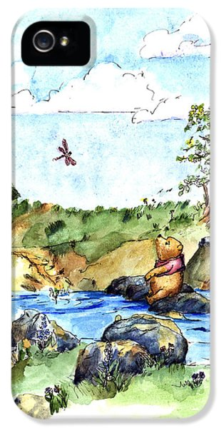 Imagining The Hunny  After E  H Shepard IPhone 5 Case