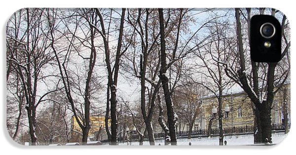 Winter Boulevard IPhone 5 / 5s Case by Anna Yurasovsky