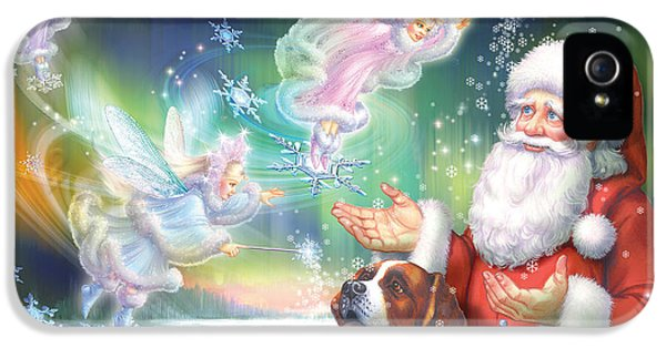Elf iPhone 5 Case - Winter Fairies by Zorina Baldescu