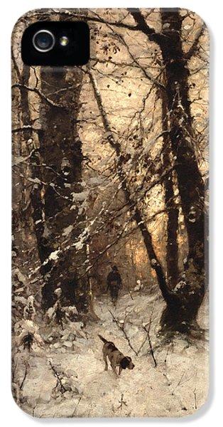 Winter Twilight IPhone 5 Case by Ludwig Munthe