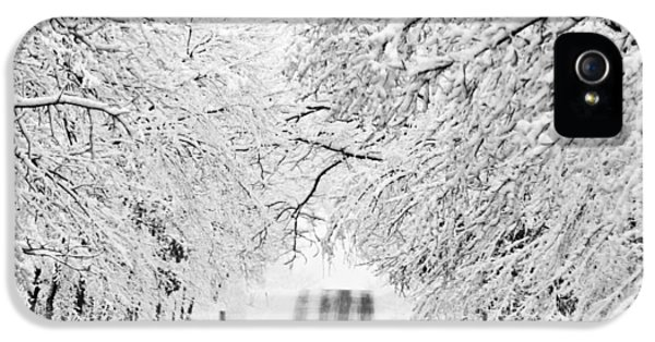 IPhone 5 Case featuring the photograph Winter Wonderland by Ricky L Jones