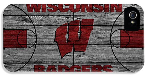 Wisconsin Badger IPhone 5 Case by Joe Hamilton