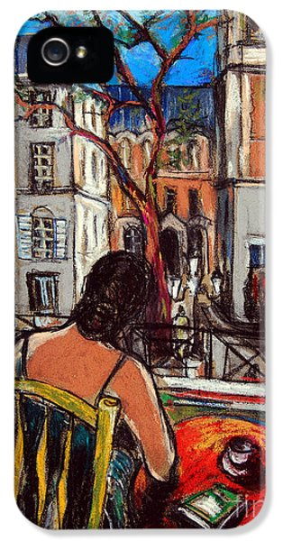 Woman At Window IPhone 5 Case