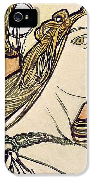 Woman With A Headscarf IPhone 5 Case
