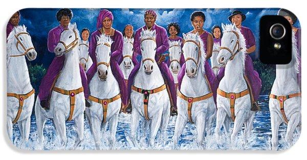 Sisters For Freedom IPhone 5 Case by Kolongi Brathwaite