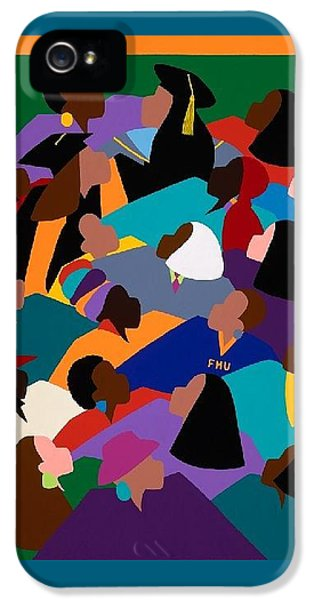 iPhone 5 Case - Women Lifting Their Voices by Synthia SAINT JAMES
