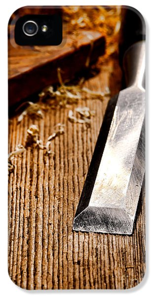 Wood Chisel IPhone 5 Case
