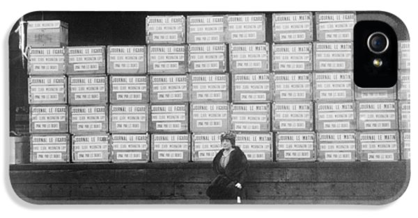 World War I Cigarette Shipment IPhone 5 Case by Library Of Congress