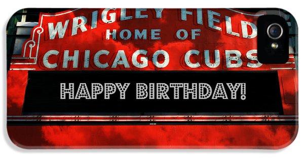 Wrigley Field -- Happy Birthday IPhone 5 Case