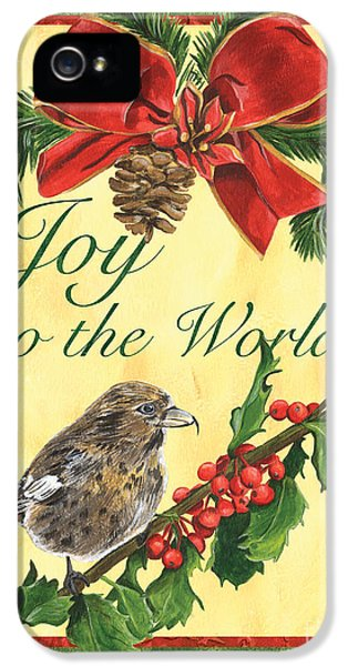 Xmas Around The World 2 IPhone 5 Case by Debbie DeWitt