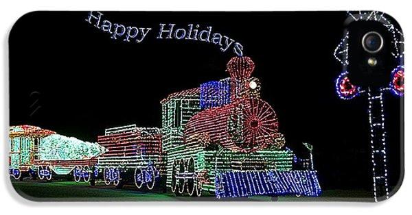 Xmas Tree Train Happy Holidays IPhone 5 Case