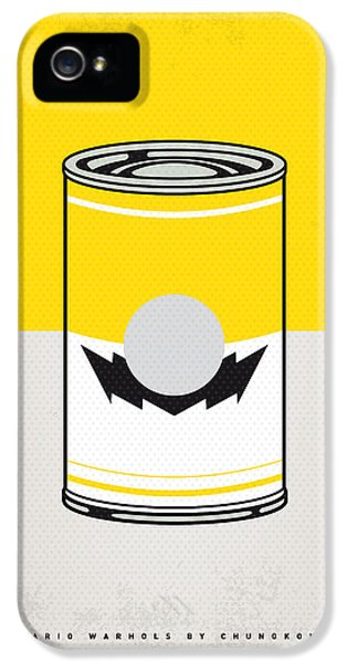 Vegetables iPhone 5 Case - Y Mario Warhols Minimal Can Poster-wario by Chungkong Art