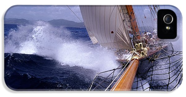 Yacht Race, Caribbean IPhone 5 Case by Panoramic Images