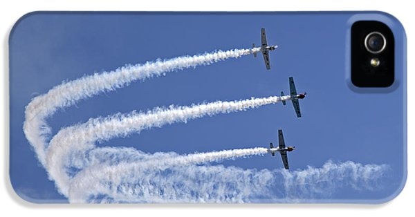 Yaks Aerobatics Team IPhone 5 Case by Jane Rix