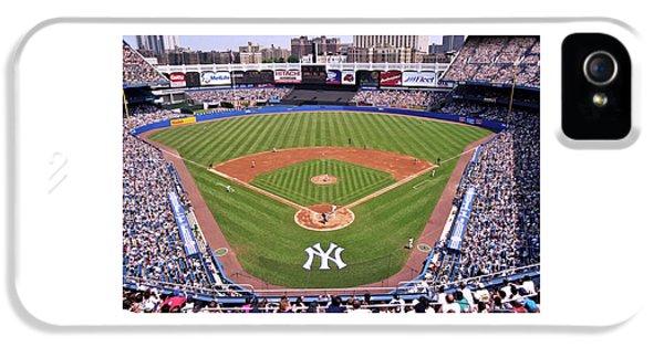 Yankee Stadium iPhone 5 Case - Yankee Stadium by Allen Beatty