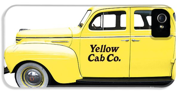 Yellow Taxi Cab IPhone 5 Case