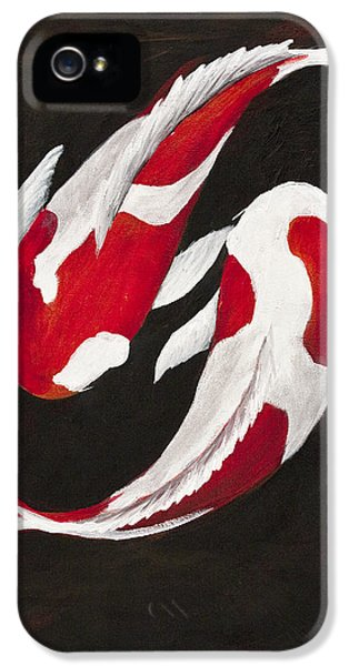 Yin And Yang IPhone 5 / 5s Case by Darice Machel McGuire