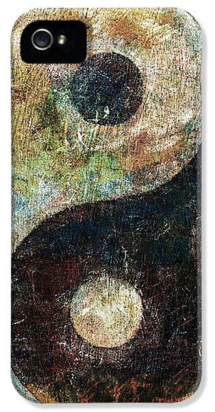 Yin And Yang IPhone 5 Case by Michael Creese