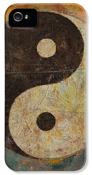 Yin Yang IPhone 5 Case by Michael Creese