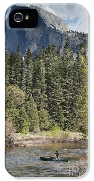 Yosemite National Park. Half Dome IPhone 5 / 5s Case by Juli Scalzi