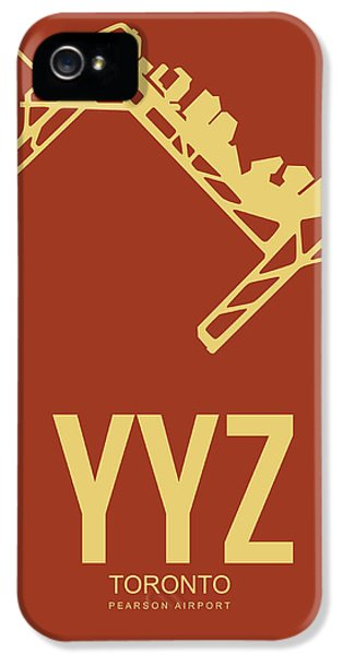 Yyz Toronto Airport Poster 3 IPhone 5 Case