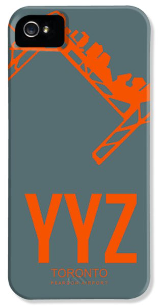 Yyz Toronto Airport Poster IPhone 5 Case
