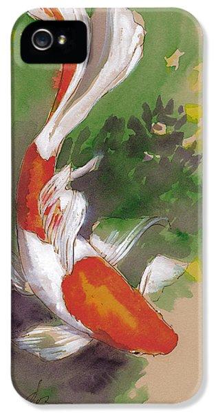 Zen Comet Goldfish IPhone 5 / 5s Case by Tracie Thompson