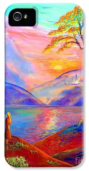 Flying Swan, Zen Moment IPhone 5 Case