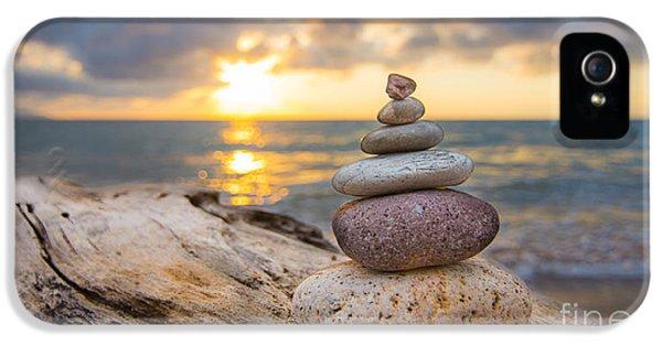 Zen Stones IPhone 5 Case