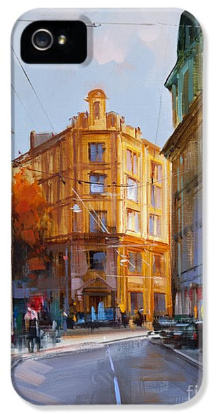 Zlatoustinskiy Alley.  IPhone 5 Case