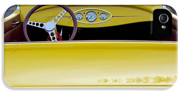 1929 Ford Model A Roadster IPhone 5 Case by Jill Reger