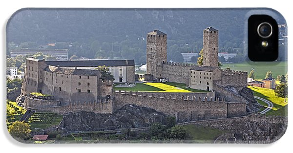 Castel Grande - Bellinzona IPhone 5 Case by Joana Kruse