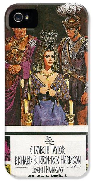 Cleopatra IPhone 5 Case by Georgia Fowler