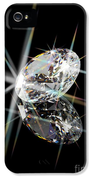 Diamond IPhone 5 / 5s Case by Atiketta Sangasaeng