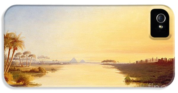 Ibis iPhone 5 Case - Egyptian Oasis by John Williams