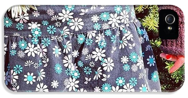 Fashion And Nature - Floral Skirt IPhone 5 Case