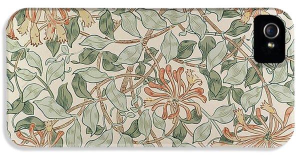 Honeysuckle Design IPhone 5 Case by William Morris