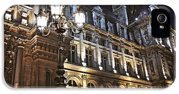 Hotel De Ville In Paris IPhone 5 Case