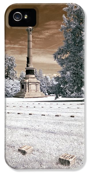 Lincolns Gettysburg Address Site - Toned IPhone 5 Case
