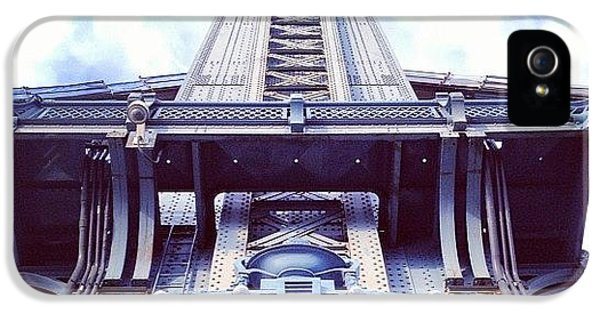 Architecture iPhone 5 Case - Manhattan Bridge by Randy Lemoine