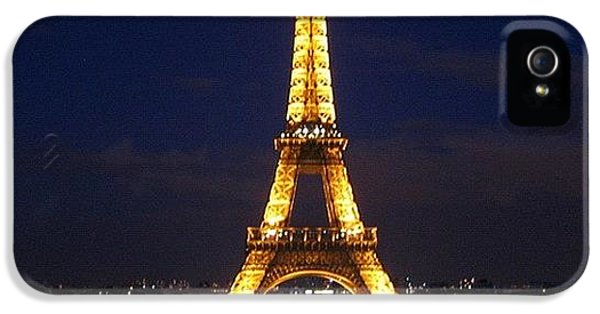 Light iPhone 5 Case - Paris By Night by Luisa Azzolini